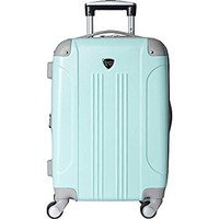 Travelers Club Luggage Modern 20 Inch Hardside Expandable Carry-On Spinner