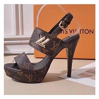 Louis Vuitton High Heels Shoes LV Pumps