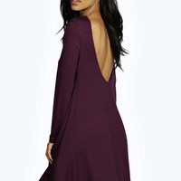 Leena Low Back Swing Dress