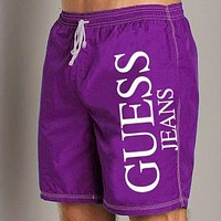 Guess Fashion Casual  Beach Pants  Shorts