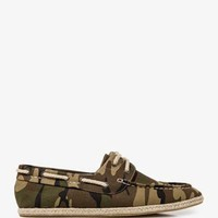 Camo Boat Shoes