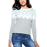 Fair Isle Eyelash Sweater - Multi