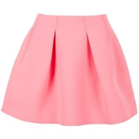 Kenzo - Double Faced Pleated Skirt (Pink)