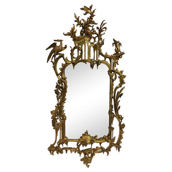 Ornate Hand-Carved Giltwood Mirror