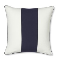 Wide Stripe Pillow Cover