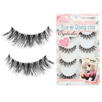 Toopoot's vestidos 2017 5 Pair/Lot Crisscross False Eyelashes Lashes Voluminous Hot Sale eye lashes #AP5