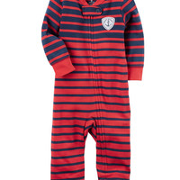 Cotton Zip-Up Footless Sleep & Play
