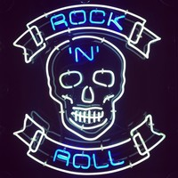 Rock Roll Neon Sign Real Neon Light