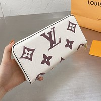 LV Louis Vuitton By The Pool Women's Long Coin Purse Card Holder