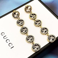 GUCCI Fashion New More Letter Retro Long Earring Women Accessories