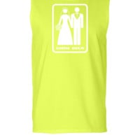 GAME OVER (HATE MARRIAGE) dark background - Sleeveless T-shirt