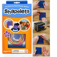 Shapelets Stretchy Band Design  - Make Your Own Silly Bandz Designs