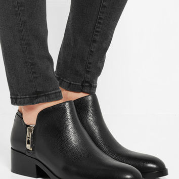 3.1 Phillip Lim - Alexa textured-leather ankle boots