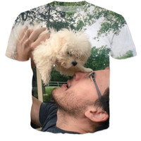 Markiplier With A Tiny Puppy Tee