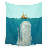 Society6 The Whale Wall Tapestry