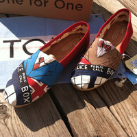 Womans Doctor Who/ Tardis TOMS