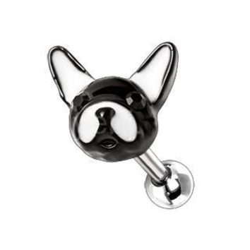 """316L Stainless Steel """"ARI"""" the Frenchie Cartilage Earring"""