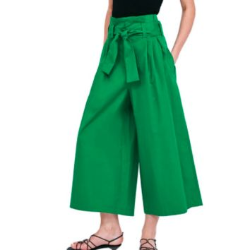 FASHION FLARE ANKLE PANTS