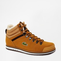 Lacoste Jarmund Shearling Look Boots at asos.com