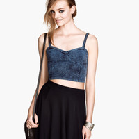 Jersey Bustier - from H&M