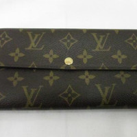Authentic Louis Vuitton Monogram Long Wallet M61734 Free Shipping from Japan