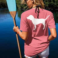 Campus Short Sleeve Pocket Tee - PINK - Victoria's Secret