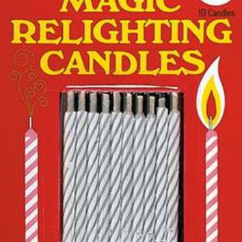 All prank and gag items - Magic relighting candles is a great prank