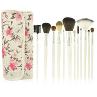 Professional Makeup Brush Sets 12-pcs Rose Brush [9647074767]