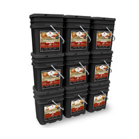 1080 Serving Package - 186 lbs - Includes: 6 - 120 Serving Entree Buckets and 3 - 120 Serving Breakfast Buckets