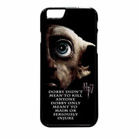 Deathly Hallows Dobby Harry Potter Quote iPhone 6 Plus Case