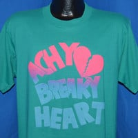 90s Achy Breaky Heart Neon t-shirt Large