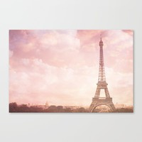 Paris in Pink Canvas Print by Legends of Darkness Photography
