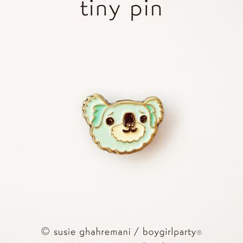 Tiny Koala Pin - Koala Enamel Pin - Lapel Pin by boygirlparty