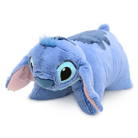 disney parks stitch reverse pillow pet plush new with tag