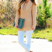 Lost Highway Sweater: Sand