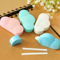 1Pcs Cute Kawaii Cloud Correction Correcting Tape Fita Stationery Corrector Sticker Papeleria Novelty Gift H1310