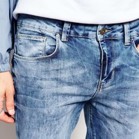 New Look Light Blue Wash Jeans