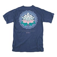 Bloom From Within Tee in Navy by Lily Grace