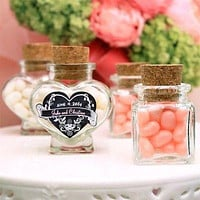 Mini Corked Jars Favor Bottle Keepsake Souvenir