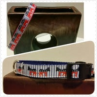ORDER BY OCTOBER 15TH to get by October 25th Mini Republican or Democrat Dog or Cat Collars