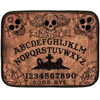 Day of the Dead Ouija Board mini blanket