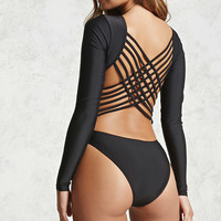 Strappy One-Piece Swimsuit