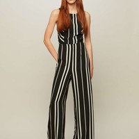 Strappy Striped Jumpsuit | Missselfridge