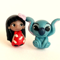 Lilo & Stitch inspired , stud earring