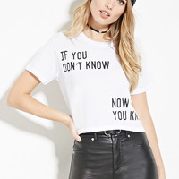 Now You Know Graphic Tee