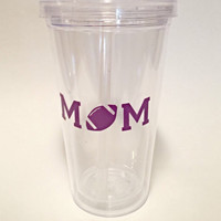 Car Window Decal - Vinyl Decals - Football Mom - Car Decal - Sports Decals - Over 20 Colors Available - Sports Mom - Team Pride - Fall Ball