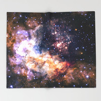 Star Cluster Throw Blanket, Outer Space Decor, Home Decor, Celestial Fireworks