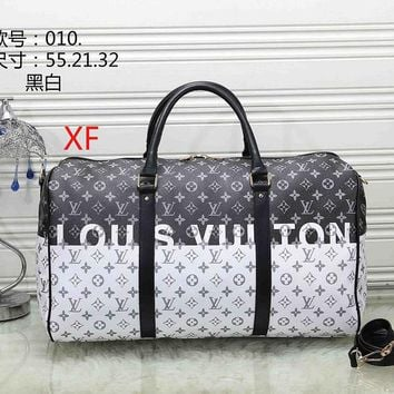 LV Louis Vuitton fashion handbag travel bag large capacity