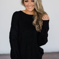 Knit Black Sweater
