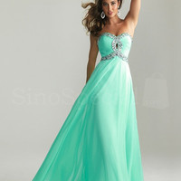WowDresses — Stunning A-line Sweetheart Floor Length Prom Dress